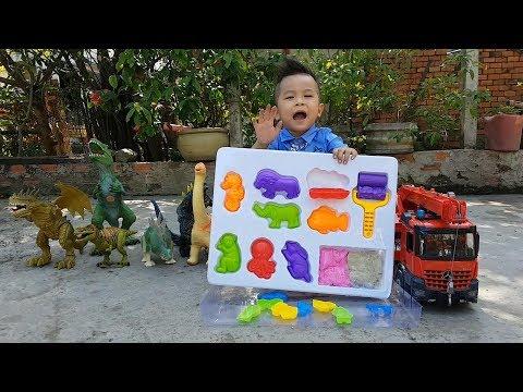Trò Chơi Bé Ken Lớp Học Cát ❤ ChiChi ToysReview TV ❤ Đồ Chơi Trẻ Em Baby Doli Fun Song Bài Hát Vần