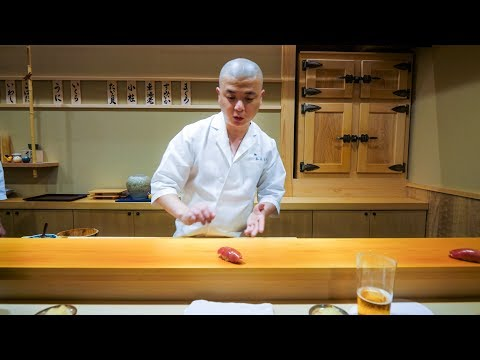 Thumbnail: Best Sushi in Japan - Tsukiji Tuna Auction to $300 HIGH-END SUSHI in Tokyo!