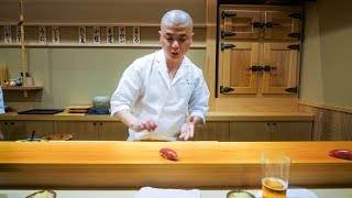 Best Sushi in Japan - Tsukiji Tuna Auction to $300 HIGH-END SUSHI in Tokyo!