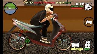 Rilis mod sound drag bike matic Gta Sa Android by Aditya
