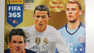FIFA 365 Panini 2016 Official Sticker Album FULL