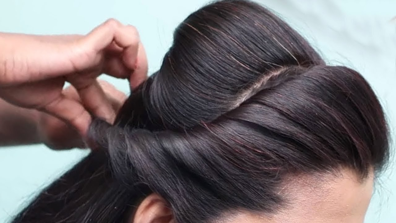 Beautiful Hairstyle For Wedding/party/Function