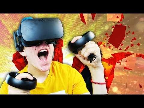 TIME MOVES WHEN YOU MOVE   SuperHOT VR (Oculus Rift Virtual Reality)