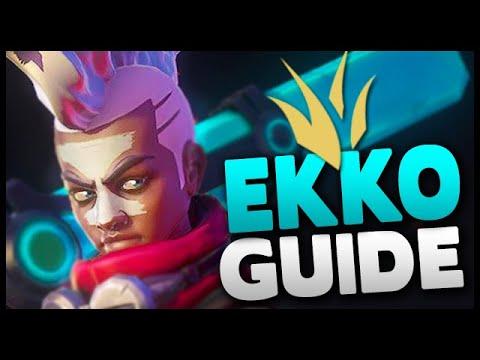 How to Play Ekko Jungle in Season 9 - League of Legends