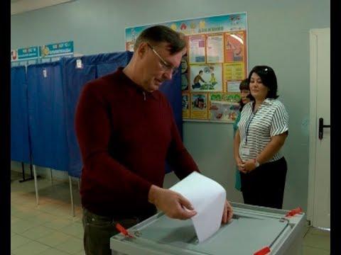 Сергей Когогин проголосовал на выборах в Госсовет РТ VI созыва