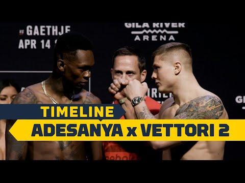 UFC 263: Israel Adesanya vs. Marvin Vettori 2 Timeline - MMA Fighting