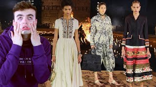 Dior tried cultural appreciation and it flopped (Dior Resort 2020 Fashion Show Review)