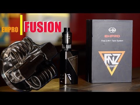 Upside Downside and The EHPro Fusion Box Mod RDTA Kit | Big on Innovation | Small on Execution