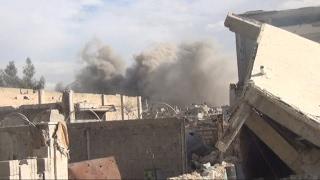 أخبار حصرية - إشتداد المعارك في دمشق وطيران النظام ينفذ 100غارة جوية