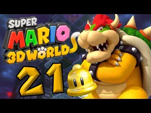 Super Mario 3D World Part 21: Finale Schlacht gegen Katzen-Bowser