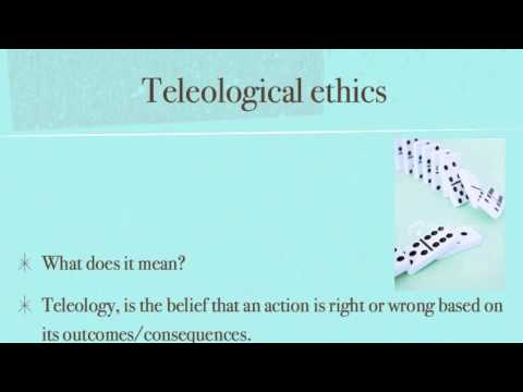 (AS -Level) Deontological and Teleological Ethics in less than 3 mins