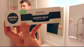 Nivea Shaving Cream Shave Review