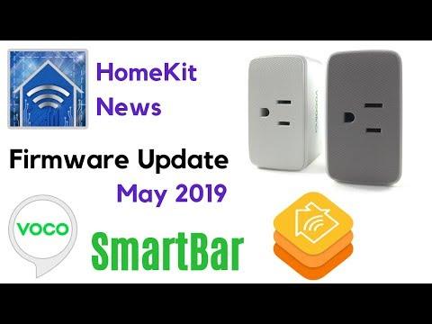 HomeKit News: VOCOlinc SmartBar Firmware Update May 2019