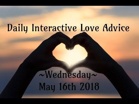 5/16/18 Daily Love Interactive Tarot Advice