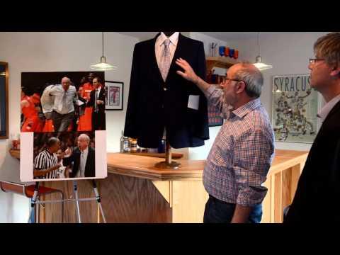 Syracuse basketball superfan Neil Gold: Proud owner of Jim Boeheim's Duke 'ejection jacket'