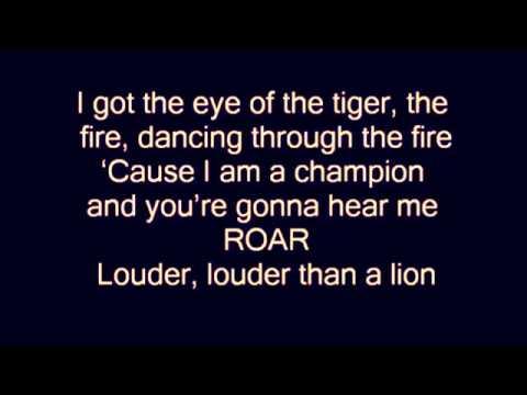 Letra de Katy perry Roar