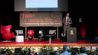 A Story about fishing, hacking and theft | Glen Gooding | TEDxStHildasSchool