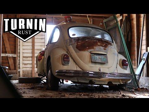 FREE 1968 Volkswagen Beetle Barn Find, Will It Run After 20 years?! | Turnin Rust