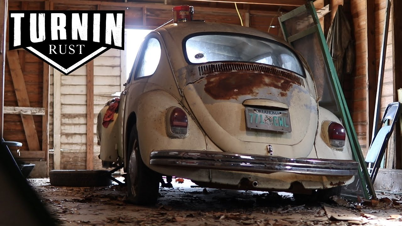 Download FREE 1968 Volkswagen Beetle Barn Find, Will It Run After 20 years?!   Turnin Rust