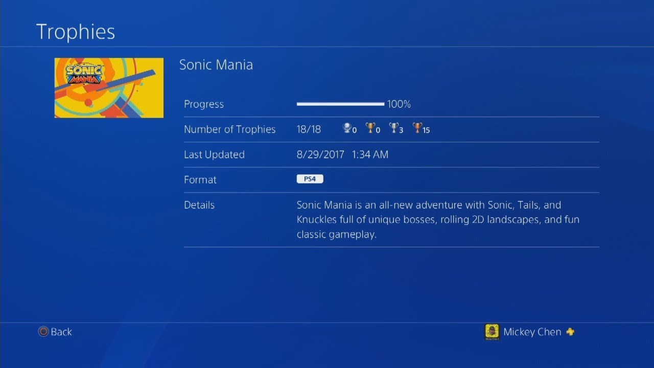 KingSuperOne's Blog: Sonic Mania 100% & Guide
