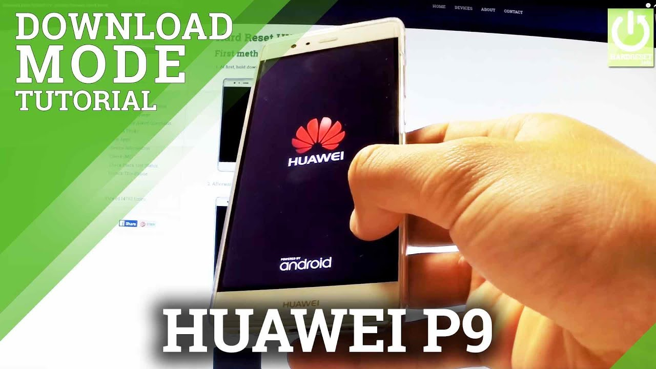 Download Mode HUAWEI P9 - HUAWEI Software Install Mode