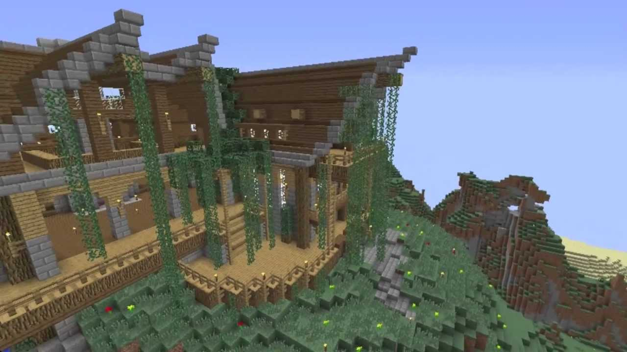 Minecraft mountain house ideas house plan 2017 for House mountain