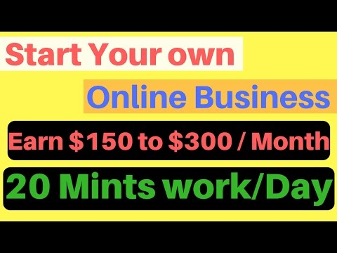 Start your Own online Business | Most Easiest Way To make Money Online | in 2017