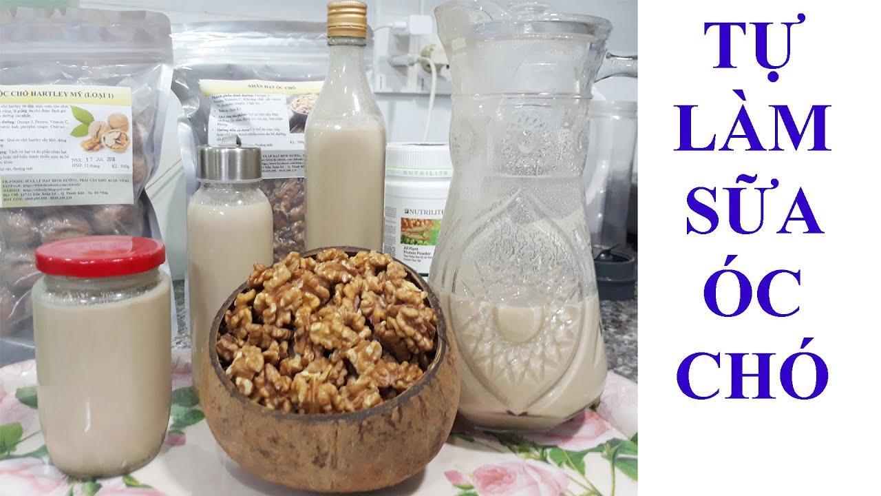 Cách làm sữa hạt óc chó tại nhà: đơn giản, dễ làm.[Ckfoody]