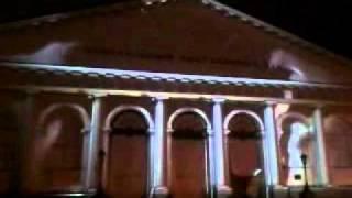 Лазерное шоу на Манежной площади Москвы / Часть 2