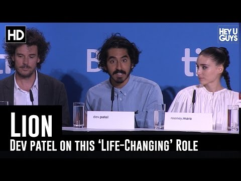 Dev Patel 'Life-Changing'  Role - Lion Press Conference (TIFF 2016)