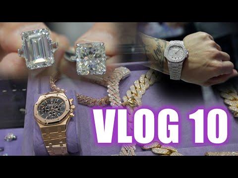 VLOG 10 DIAMOND LESSIONS AND BIG BUYS!