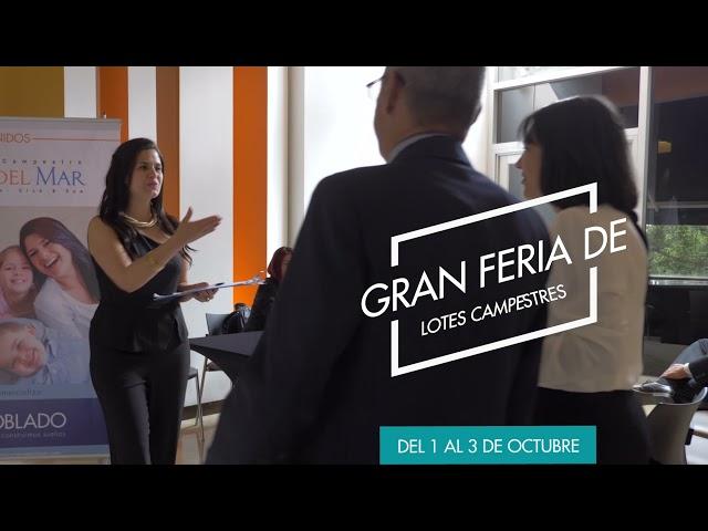 GRAN FERIA DE LOTES CAMPESTRES