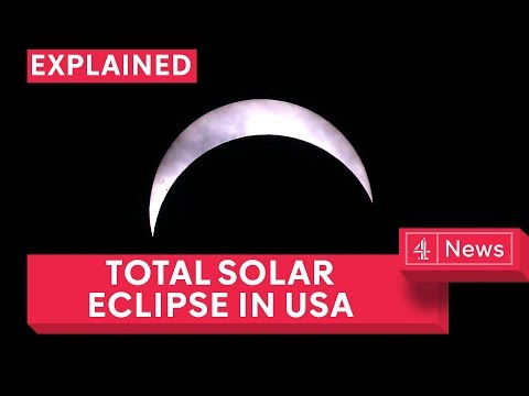 Total solar eclipse 2017: Live from Columbia, South Carolina