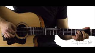 who i am with you guitar lesson and tutorial chris young