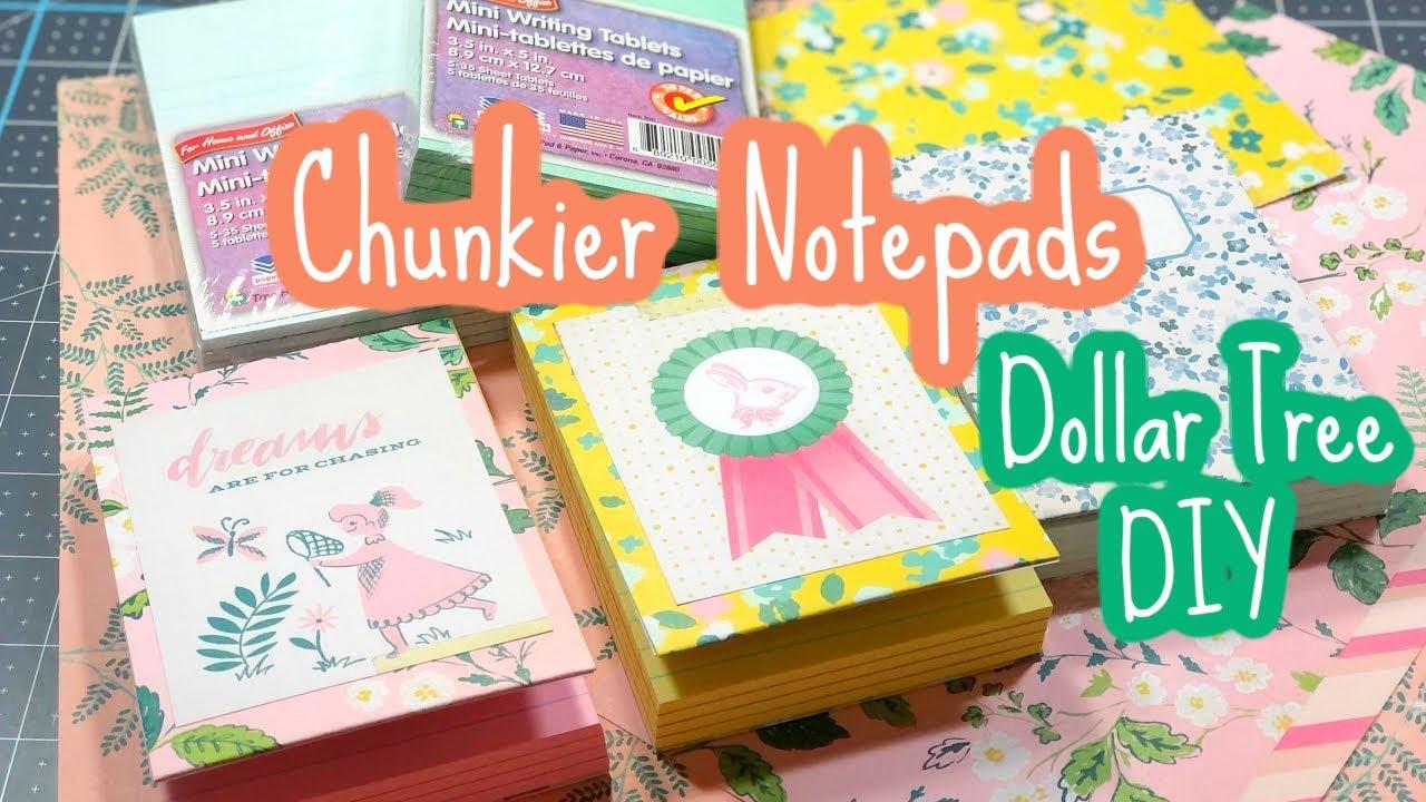 Chunky Notepads • Dollar Tree DIY!