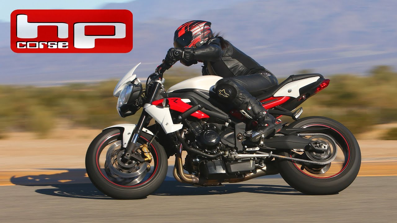 Triumph Street Triple R Hp Corse Exhaust Youtube