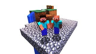 how NOT to play skyblock in Minecraft