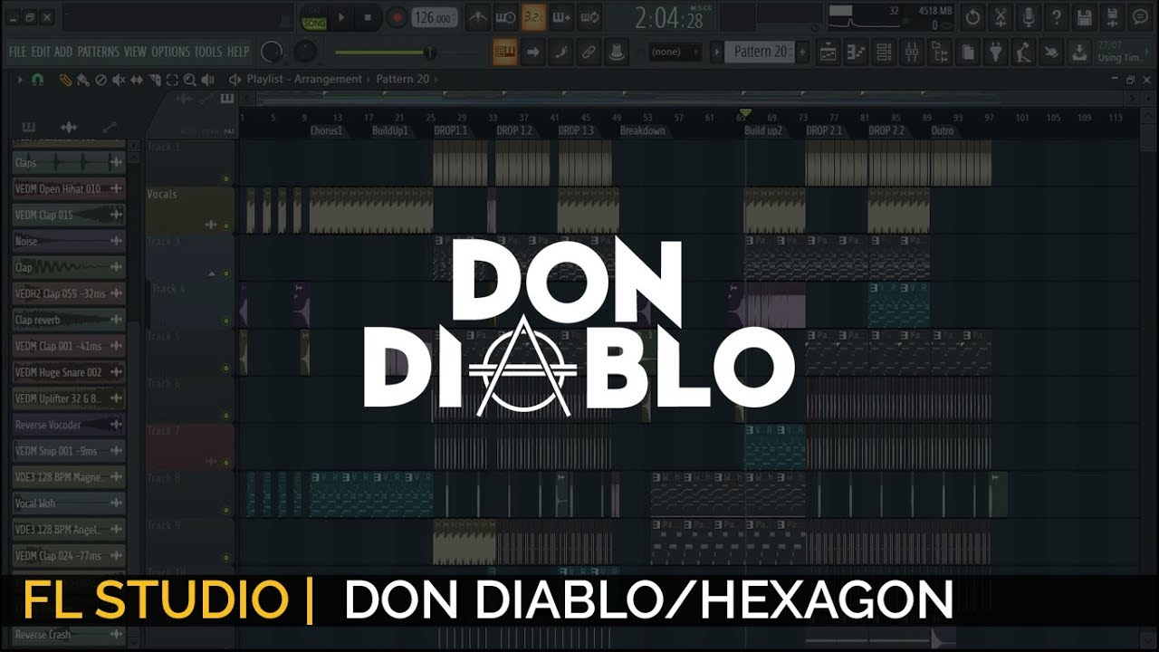 Don Diablo/HEXAGON Style Track[Free FLP]