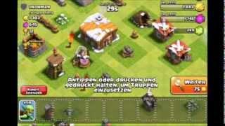 (FOLGE 4. ONLINE KÄMPFE, DER ERSTE UMBAU) Lets Play-Clash of Clans