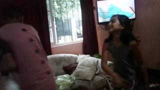 2 pleito borracho vs chica