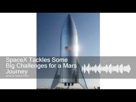 SpaceX Tackles Some Big Challenges for a Mars Journey