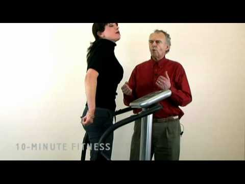 Abs And Core Exercises On Vibration Plate