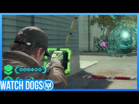 Watch Dogs NVZN ALIEN GAME & CASH RUN (Watch Dogs Exclusive Gameplay)