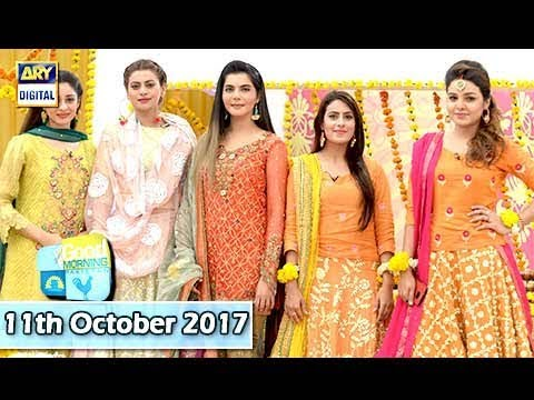 Good Morning Pakistan - 11th October 2017 - ARY Digital Show
