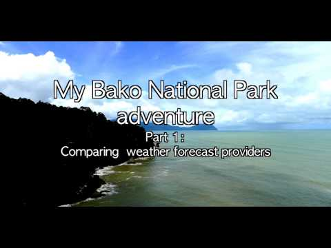 [My Bako National Park adventure] Part 1: Comparing weather forecast providers