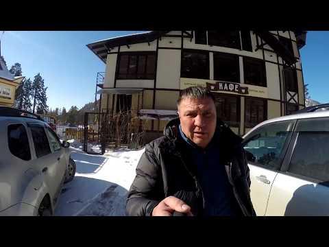 Горный Алтай. Зимняя прогулка на  КАМЫШЛИНСКИЙ  водопад.
