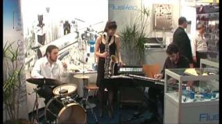 "JAZZ: JAGA (bateria), Nicolas Chientarolli (piano), Ada Rave (tenor) ""When will the blues leave"""