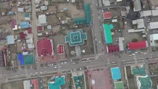 Поселок Агинское, центр Агинского Бурятского округа.