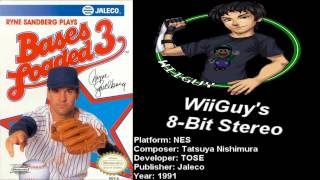 Скачать Bases Loaded 3 NES Soundtrack 8BitStereo