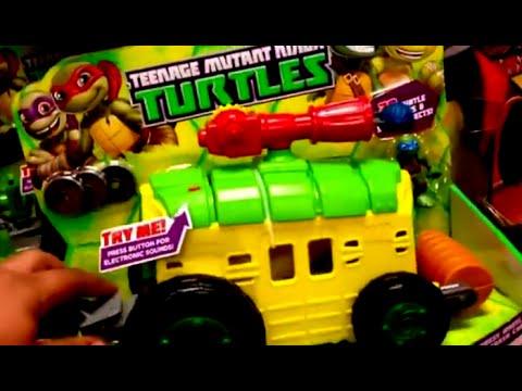 Teenage Mutant Ninja Turtles Tmnt Shell Raiser Van